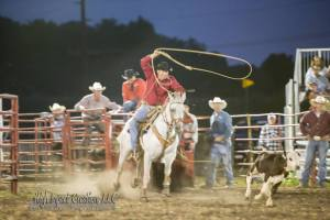 High Impact Calf Roping